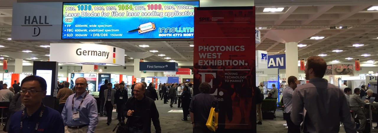 Thousands attend SPIE Photonics West