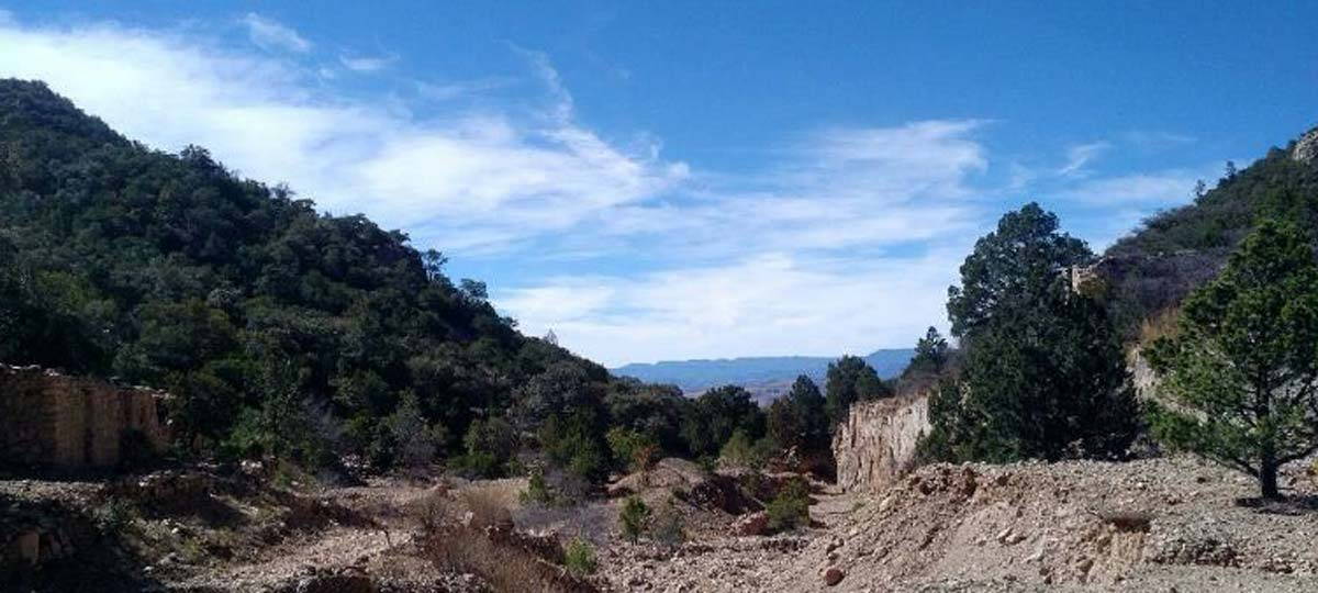 Panoramic view of La Reyna project