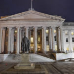 US Treasury Department in Washington D.C